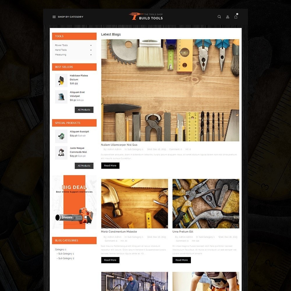 theme - Coches y Motos - Build Tools - Online Store - 6