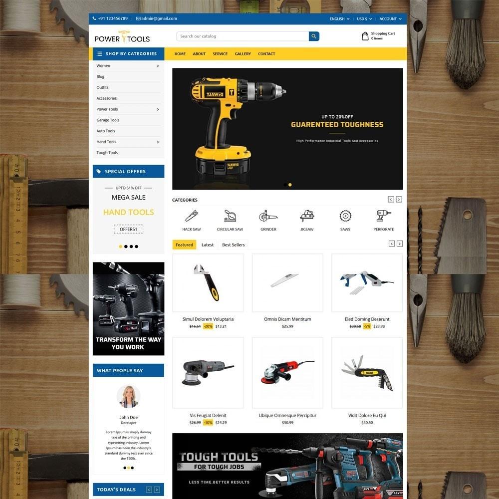 theme - Авто и Мото - Power Tools - 2