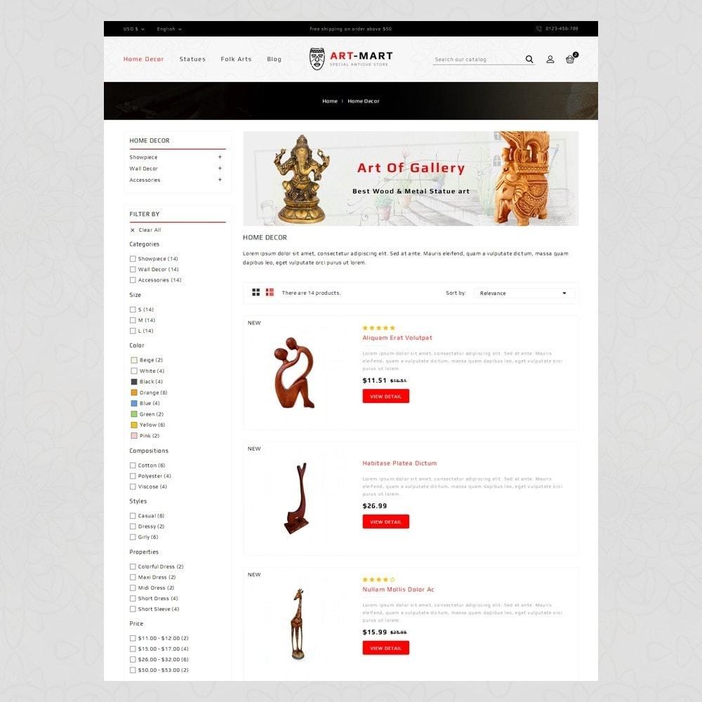 theme - Arte y Cultura - Art Mart - Online Store - 4