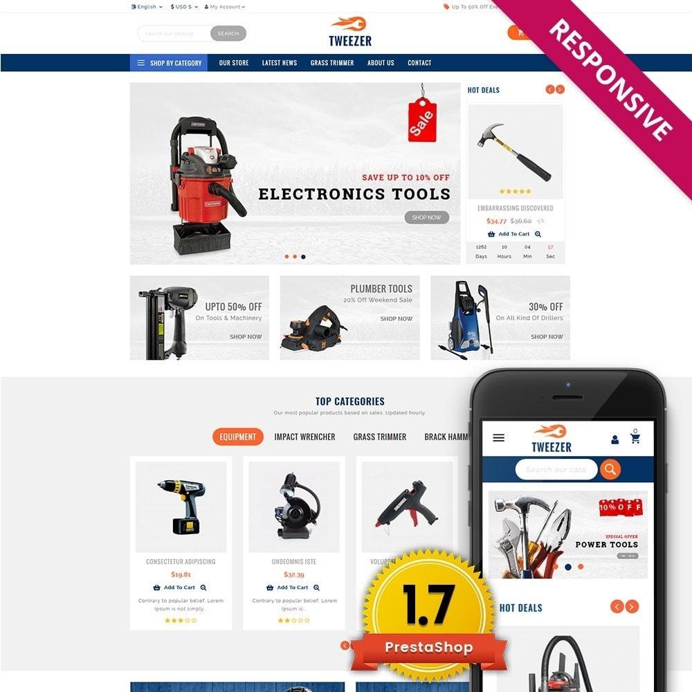 theme - Automotive & Cars - Tweezer Tool Store - 1