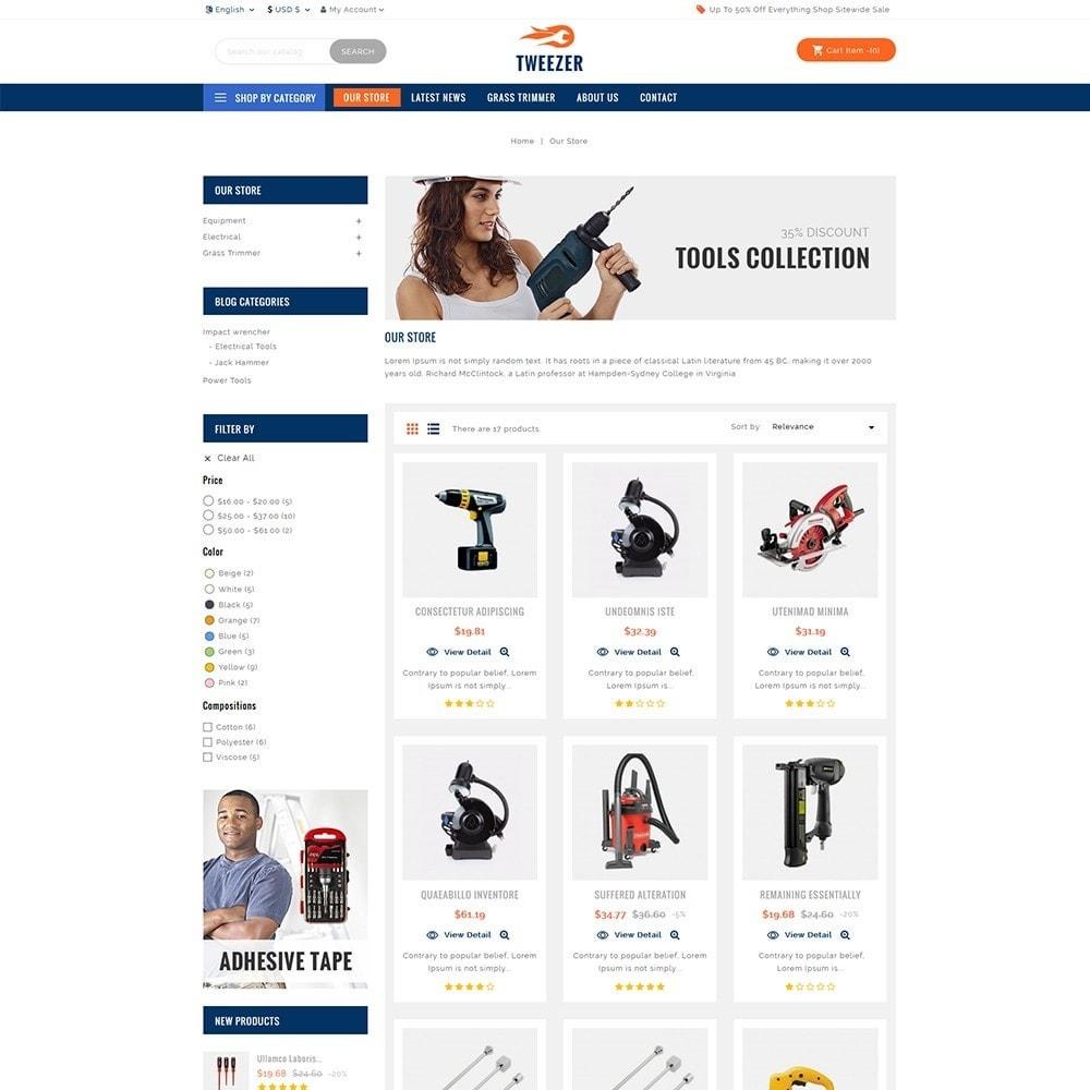 theme - Automotive & Cars - Tweezer Tool Store - 3