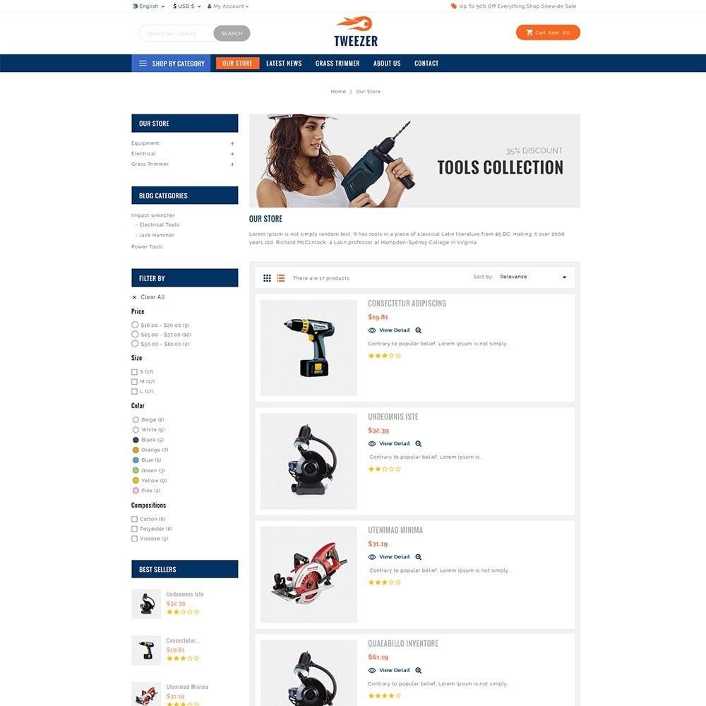 theme - Automotive & Cars - Tweezer Tool Store - 4