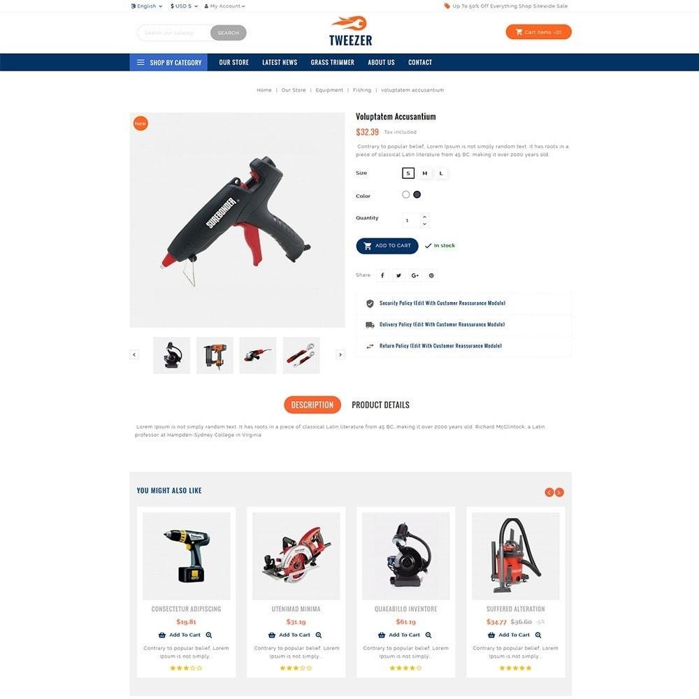 theme - Automotive & Cars - Tweezer Tool Store - 5
