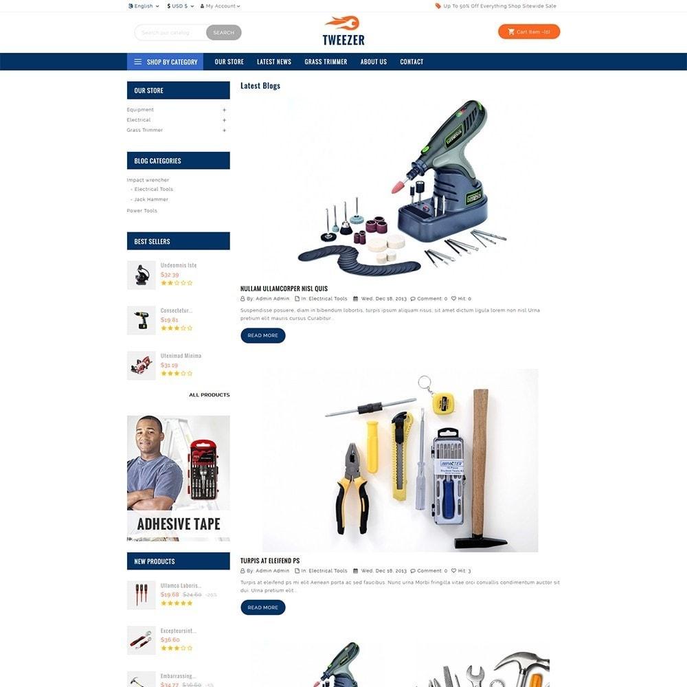 theme - Automotive & Cars - Tweezer Tool Store - 6