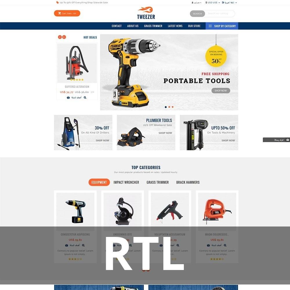 theme - Automotive & Cars - Tweezer Tool Store - 7