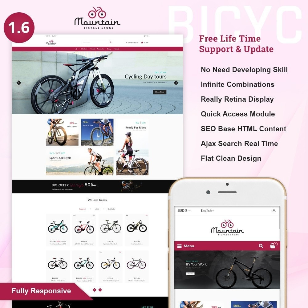 theme - Sport, Aktivitäten & Reise - Automotive Sports - Bicycle Shop - 1