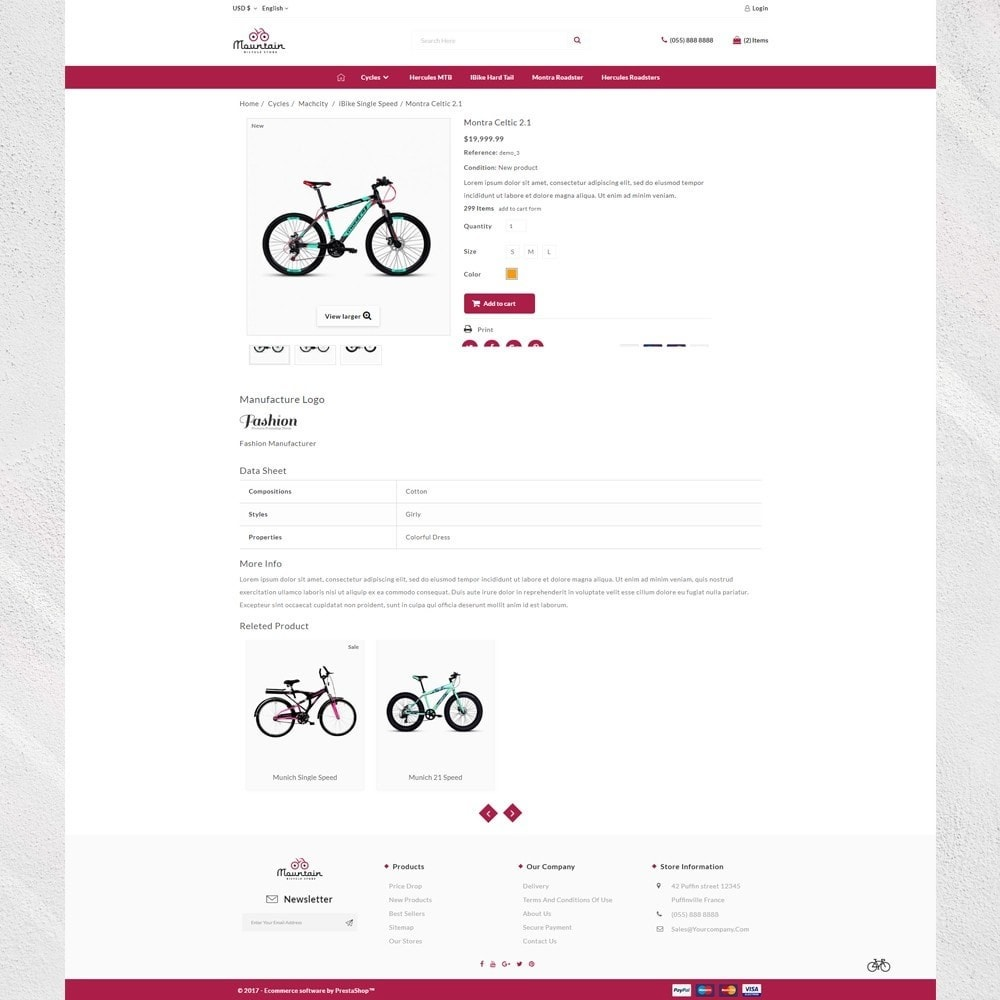 theme - Sport, Aktivitäten & Reise - Automotive Sports - Bicycle Shop - 4