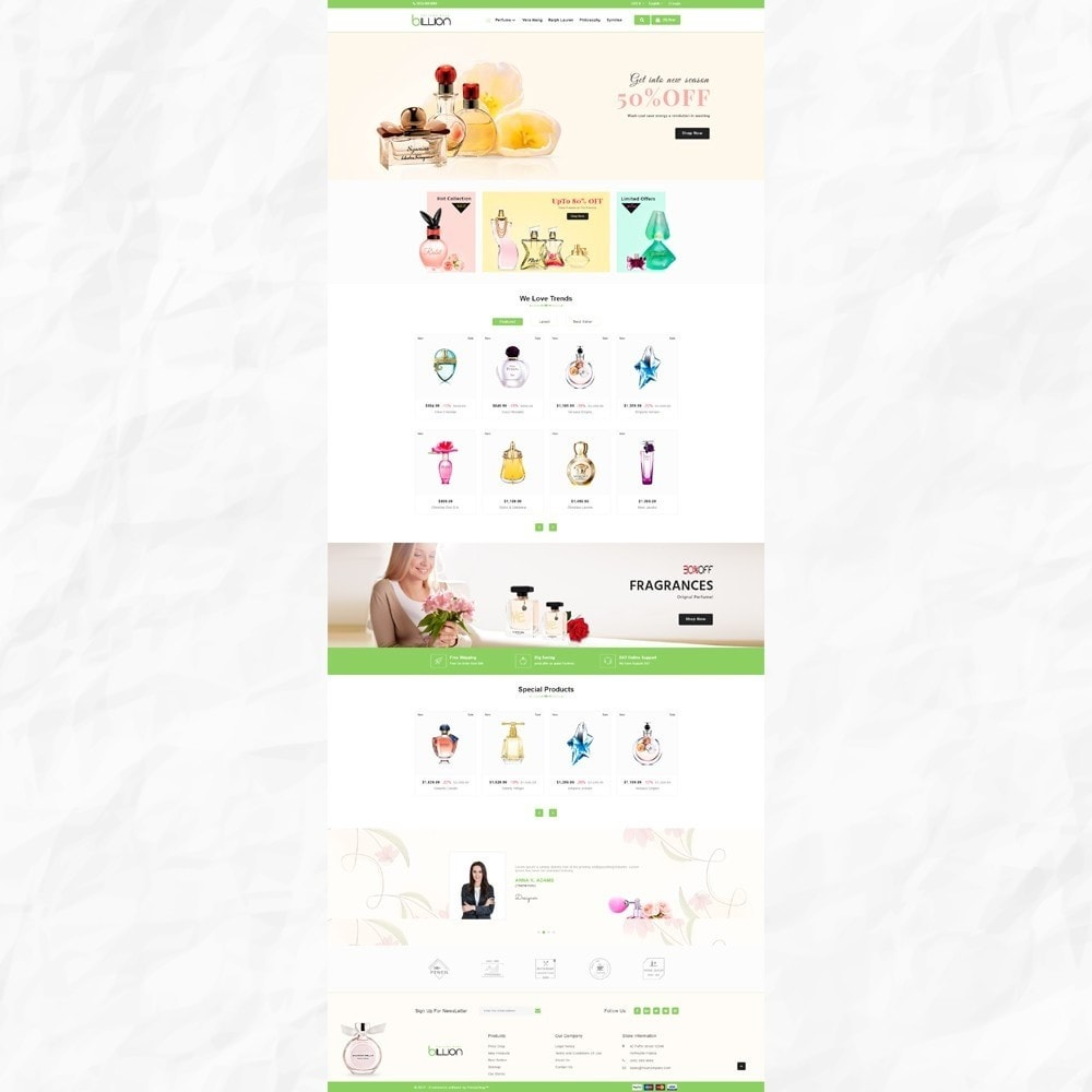 theme - Salute & Bellezza - Billion – Royal Perfume Store - 2