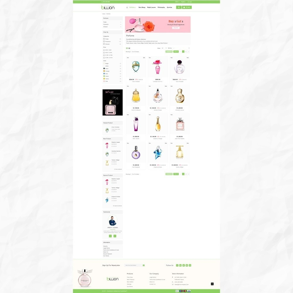 theme - Salute & Bellezza - Billion – Royal Perfume Store - 3