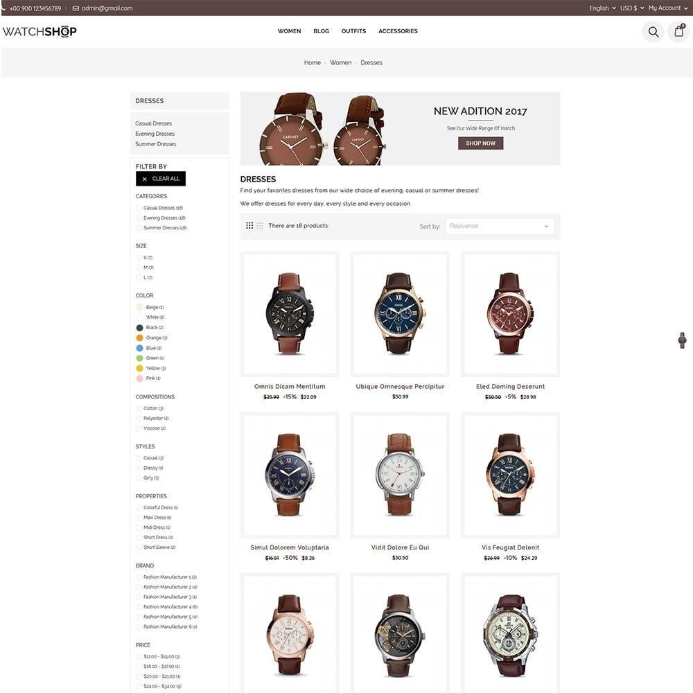 theme - Bellezza & Gioielli - Watch Shop - 5