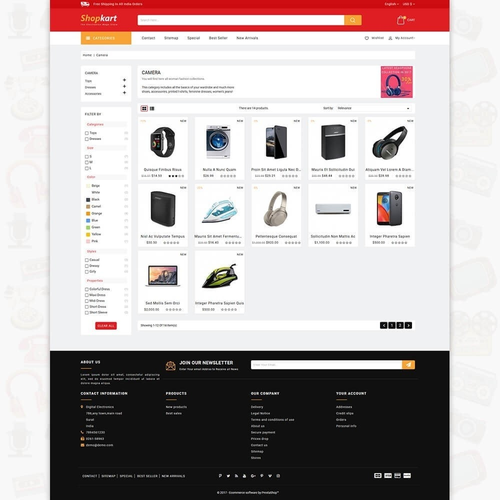 theme - Электроника и компьютеры - ShopKart - The Electronics Store - 3