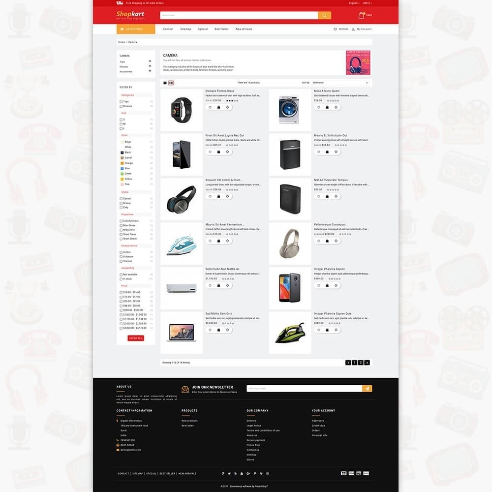 theme - Электроника и компьютеры - ShopKart - The Electronics Store - 4