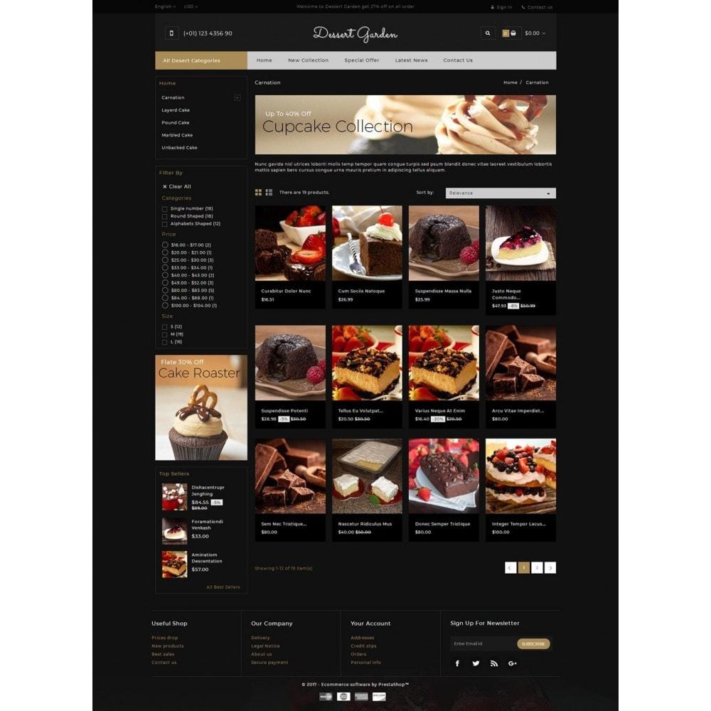 theme - Продовольствие и рестораны - Dessert Garden - Bakery Store - 3