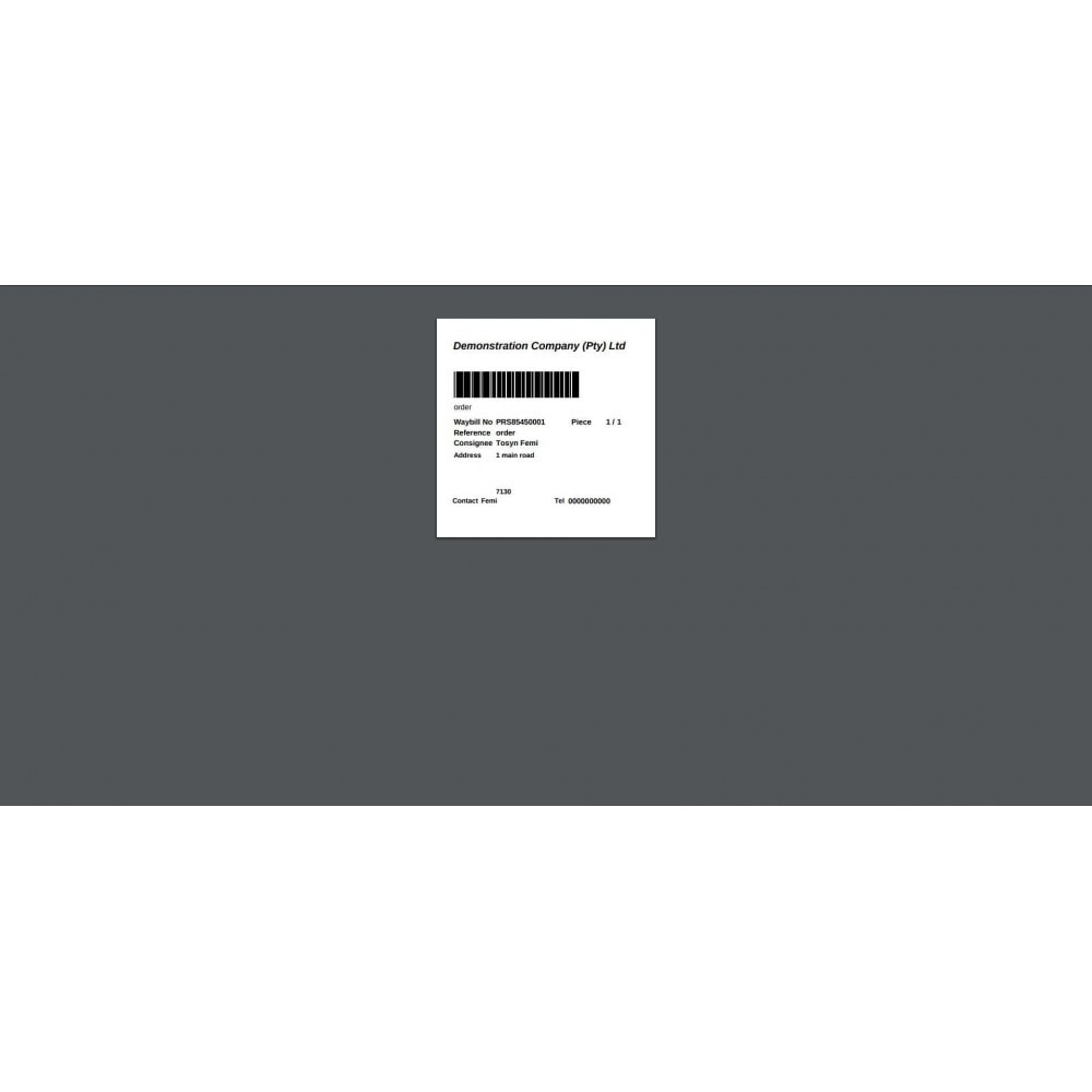 module - Corrieri - Citi-Sprint Shipping Module - 8