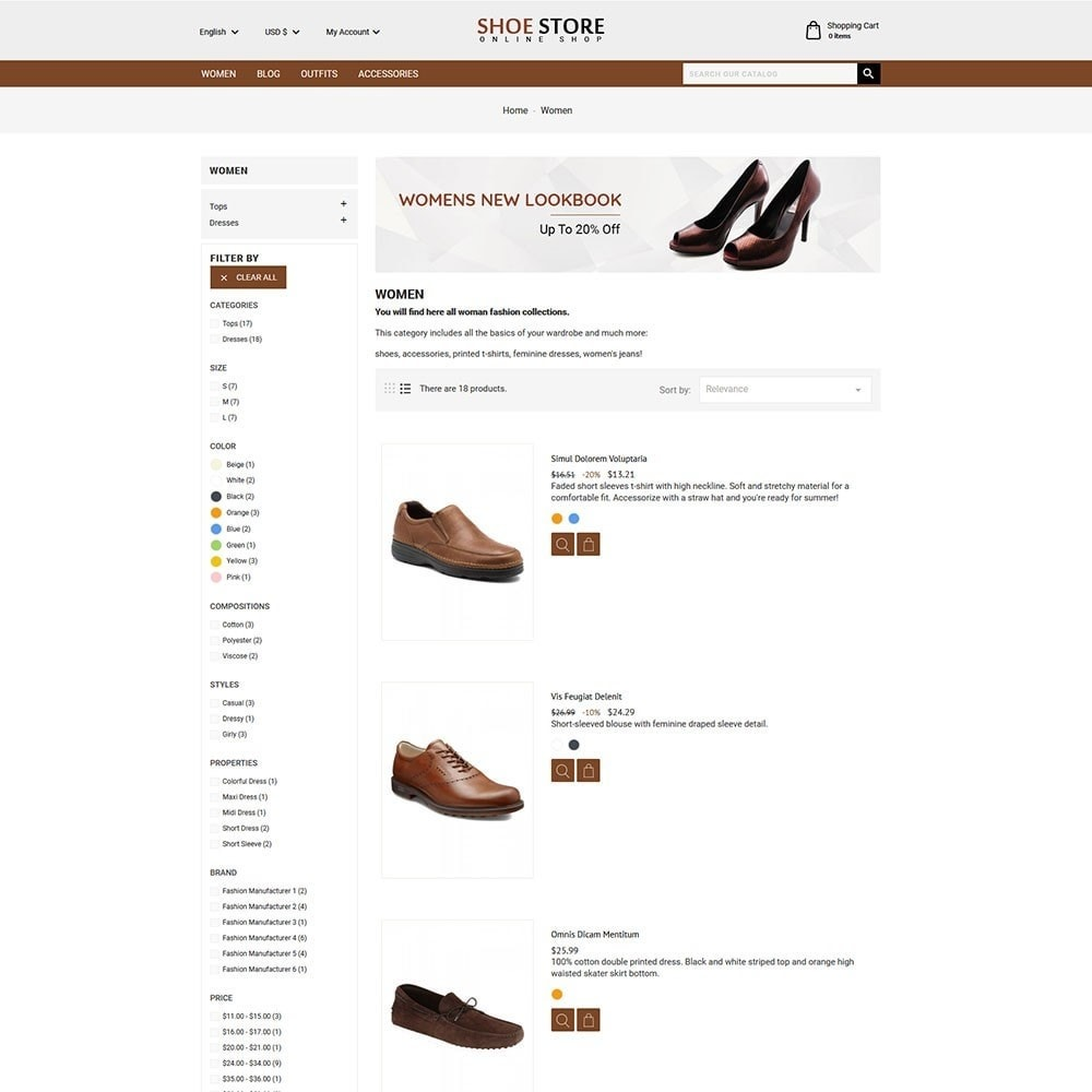 theme - Mode & Chaussures - Shoe Store - 3