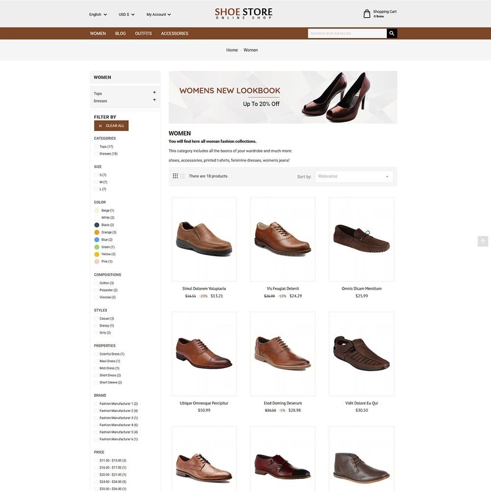 theme - Mode & Chaussures - Shoe Store - 4