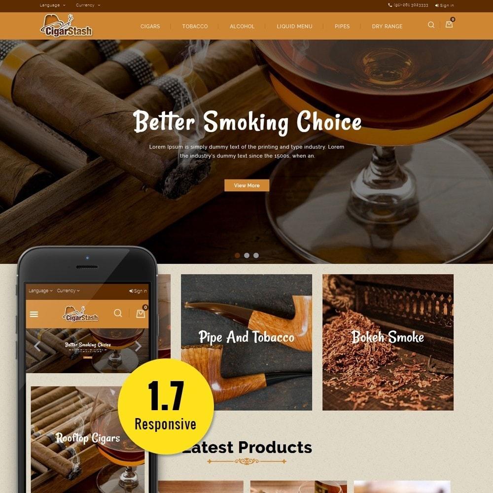 theme - Bebidas & Tabaco - CigarStash Store - 1