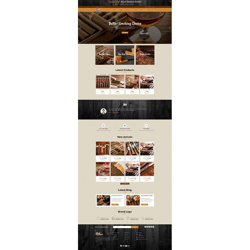theme - Bebidas & Tabaco - CigarStash Store - 2
