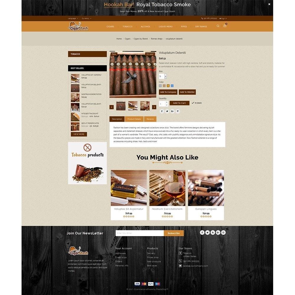 theme - Bebidas & Tabaco - CigarStash Store - 5
