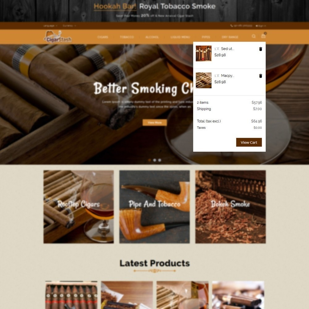 theme - Bebidas & Tabaco - CigarStash Store - 8