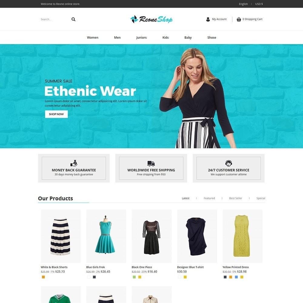 theme - Moda & Obuwie - Reone Fashion Shop - 2