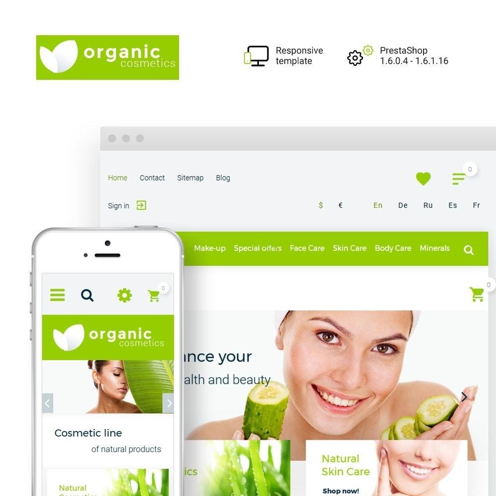theme - Zdrowie & Uroda - Organic cosmetics - 1