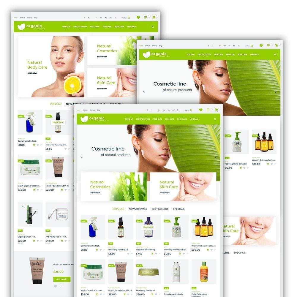 theme - Zdrowie & Uroda - Organic cosmetics - 2