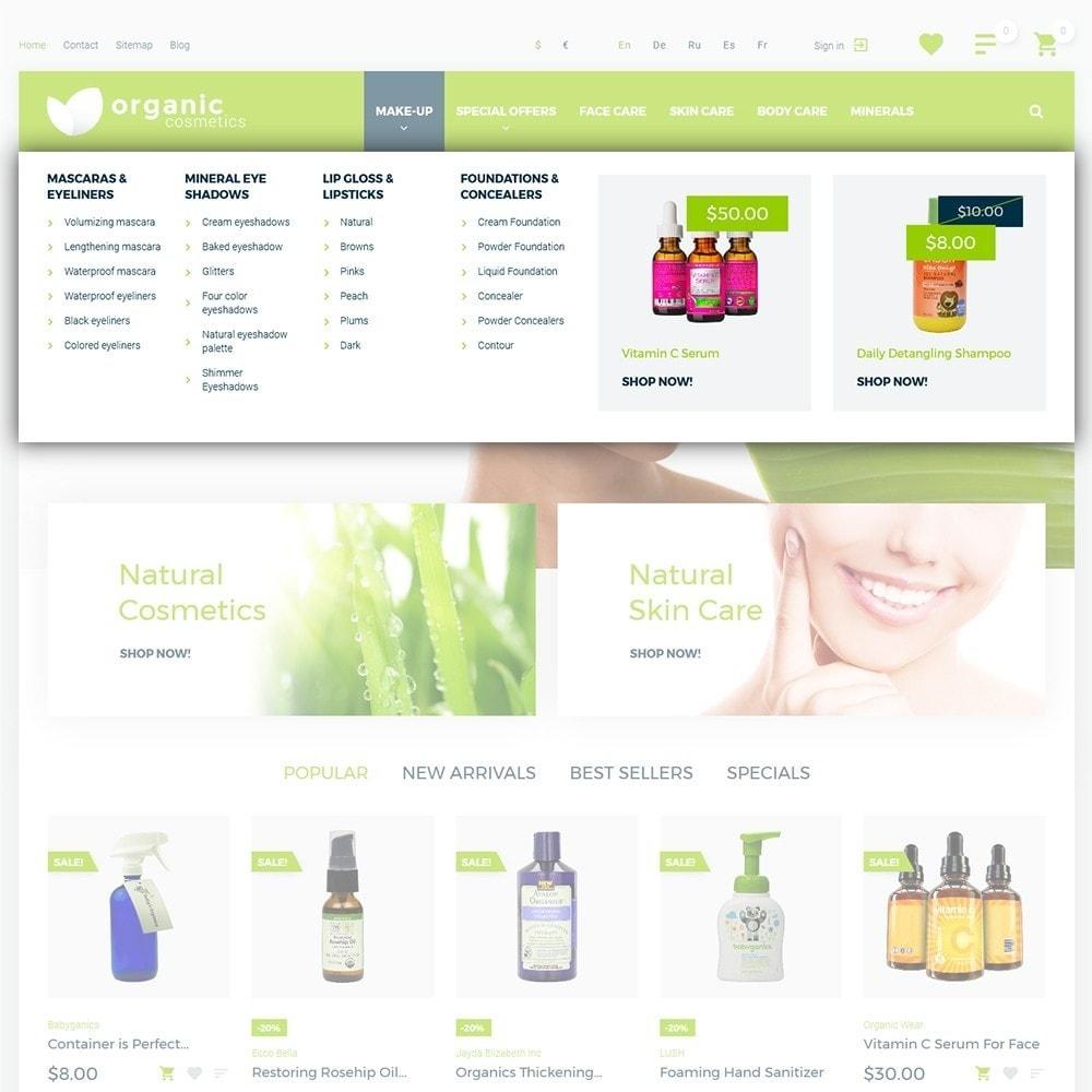theme - Zdrowie & Uroda - Organic cosmetics - 4