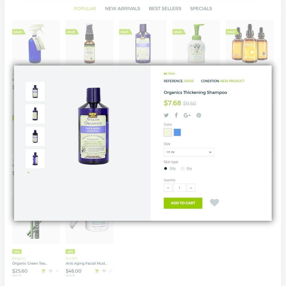 theme - Zdrowie & Uroda - Organic cosmetics - 5