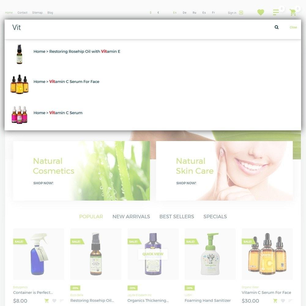 theme - Zdrowie & Uroda - Organic cosmetics - 6