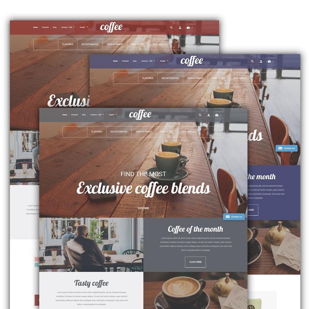 theme - Gastronomía y Restauración - Coffee - para Sitio de Tienda de Café - 2