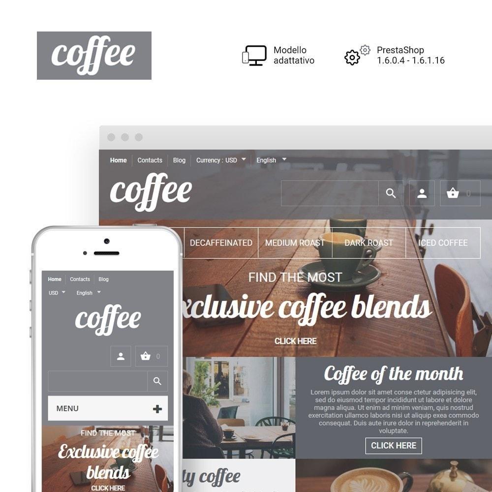 theme - Cibo & Ristorazione - Coffee - Caffetteria template - 1