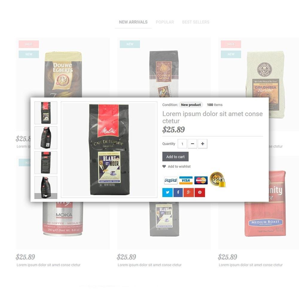theme - Cibo & Ristorazione - Coffee - Caffetteria template - 5