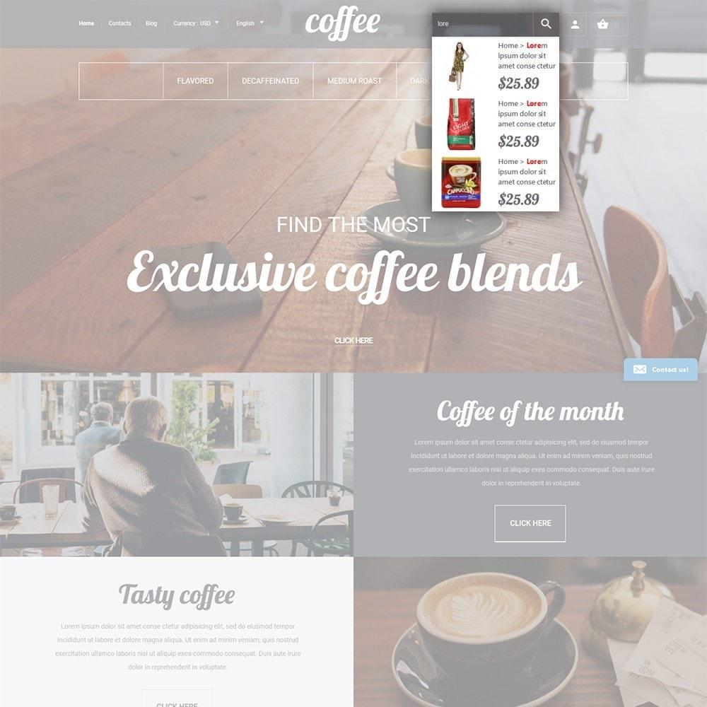 theme - Cibo & Ristorazione - Coffee - Caffetteria template - 6
