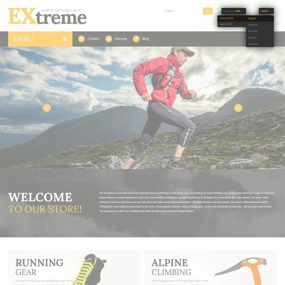 theme - Desporto, Actividades & Viagens - Extreme Sports Clothing - 6