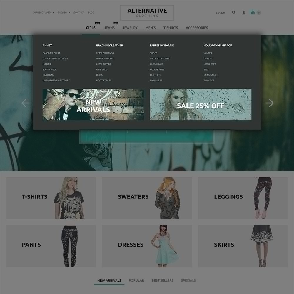 theme - Мода и обувь - Alternative Closing - 5