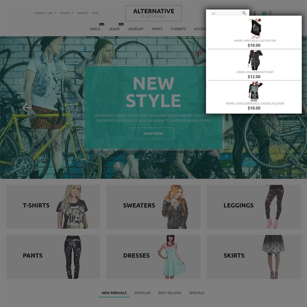 theme - Мода и обувь - Alternative Closing - 6