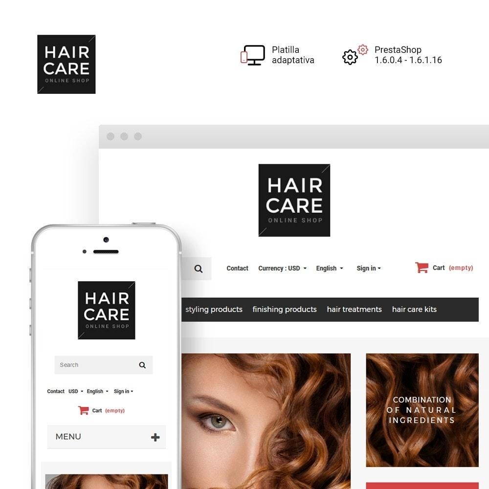 theme - Salud y Belleza - Hair Care - para Sitio de Peluquerías - 1