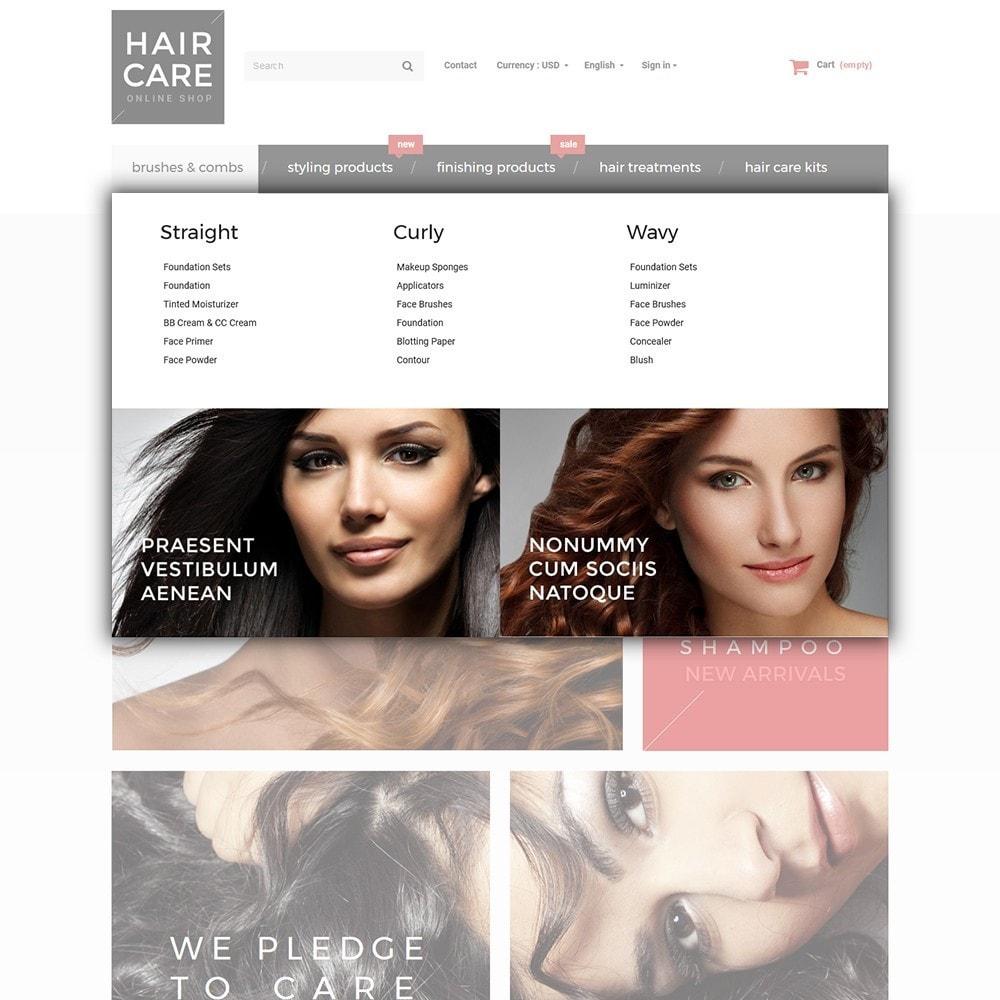 theme - Salud y Belleza - Hair Care - para Sitio de Peluquerías - 4