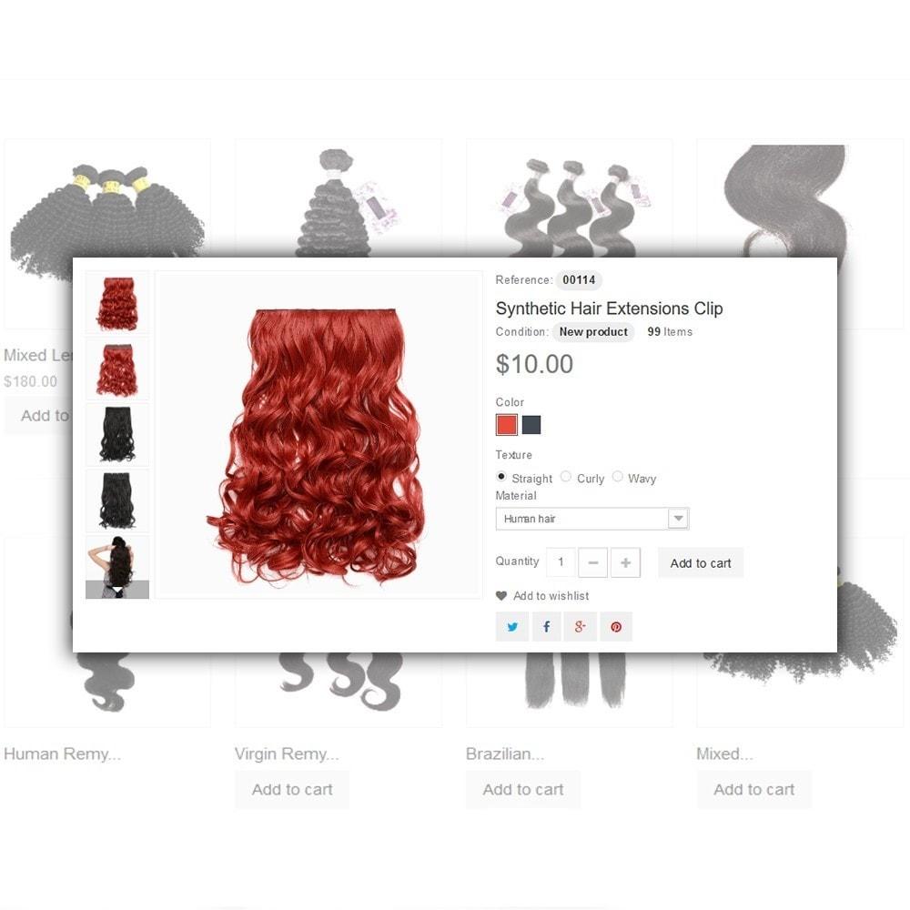 theme - Salud y Belleza - Hair Care - para Sitio de Peluquerías - 5