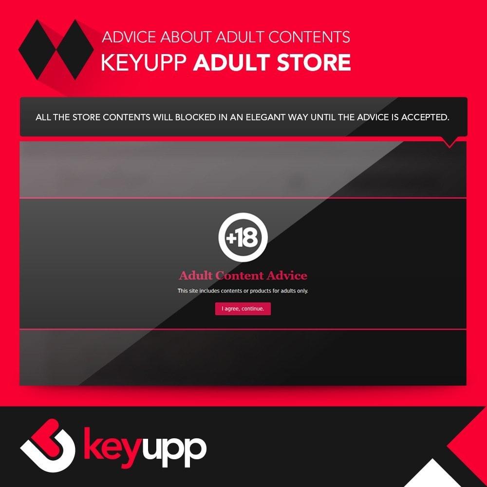 module - Bezpieczeństwa & Dostępu - Adult content advice - 4