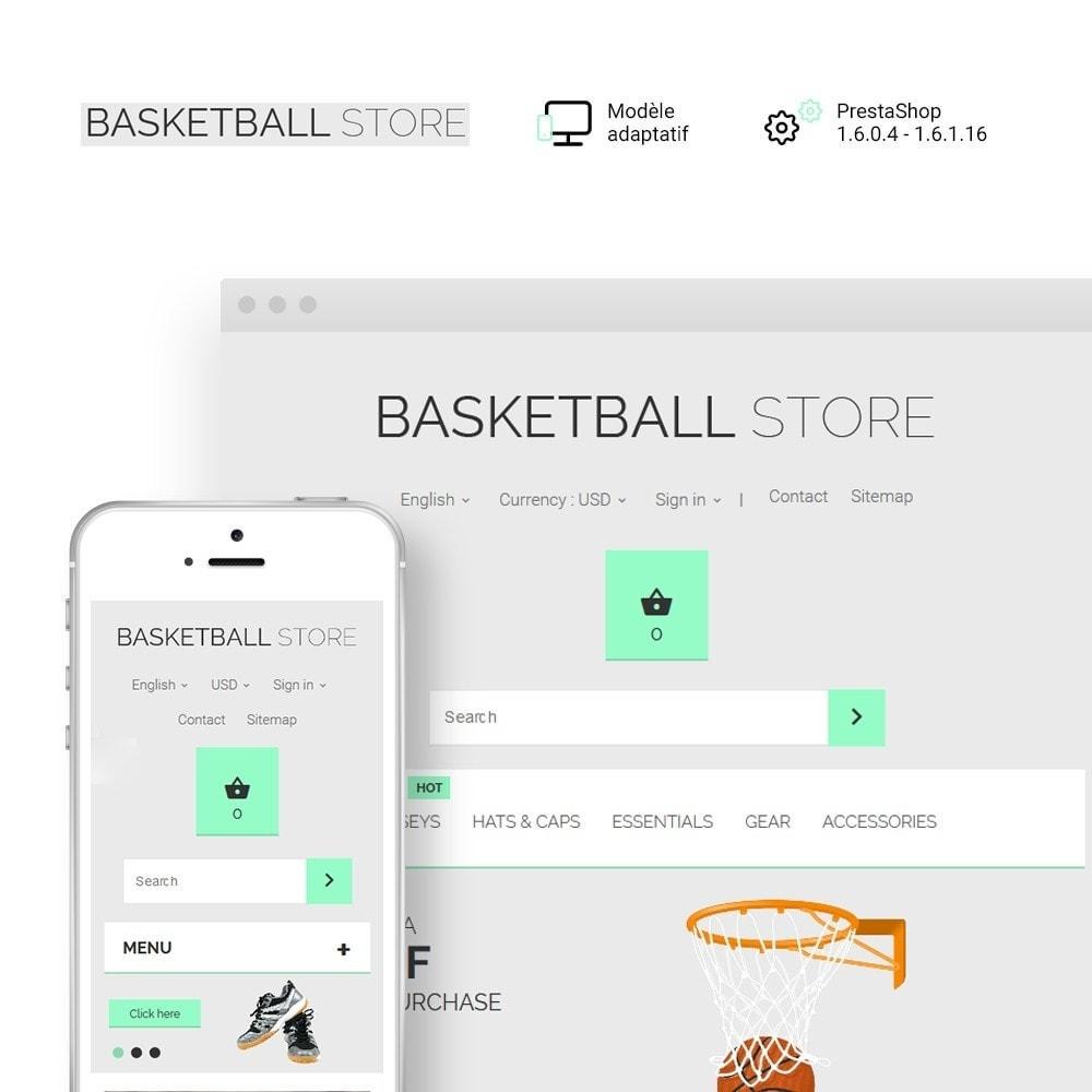 theme - Sport, Loisirs & Voyage - Basketball Store - 1
