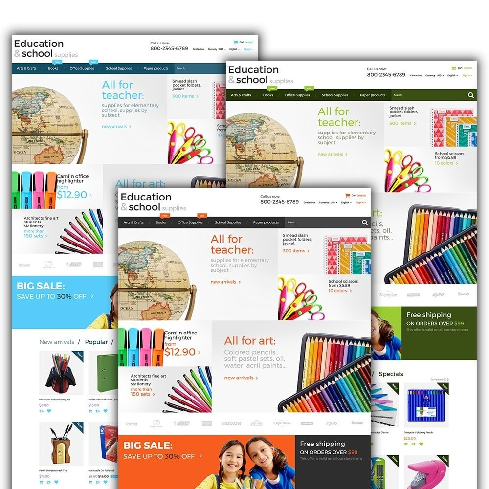 theme - Dom & Ogród - Education  School Supplies - 2