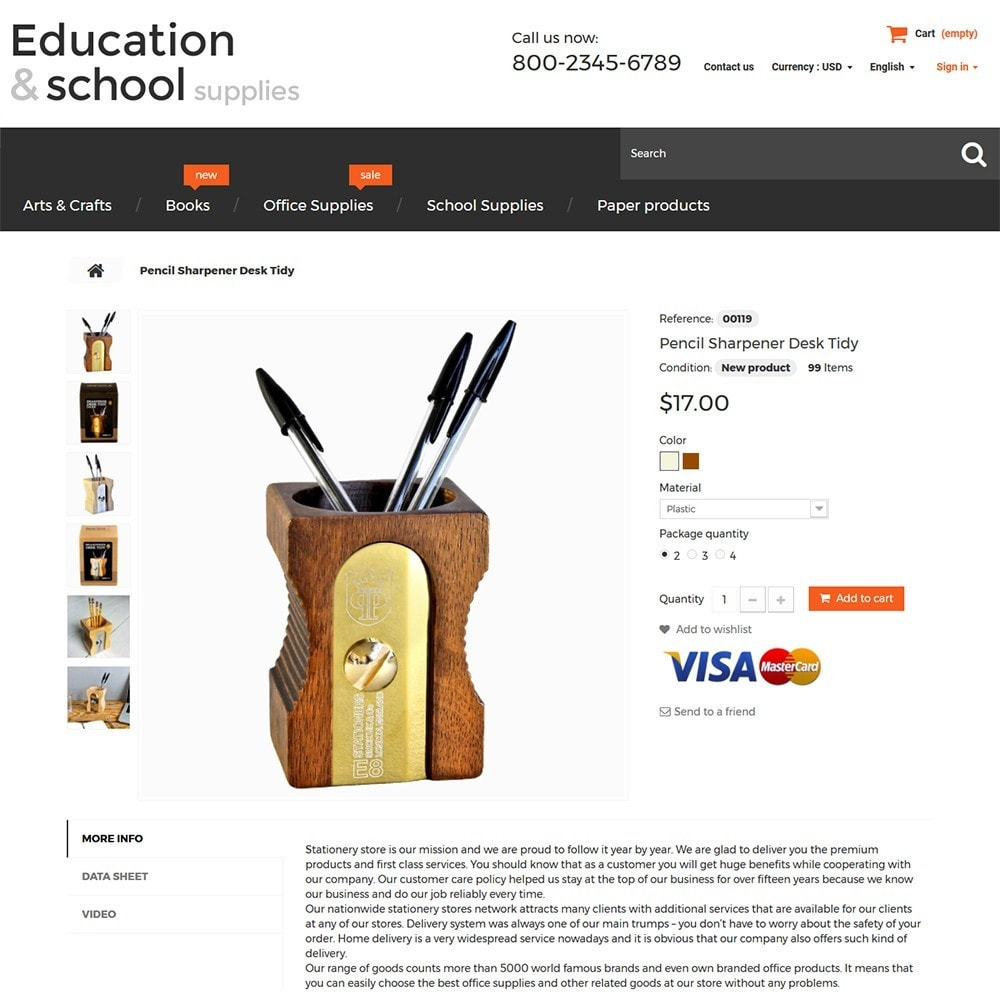 theme - Dom & Ogród - Education  School Supplies - 3