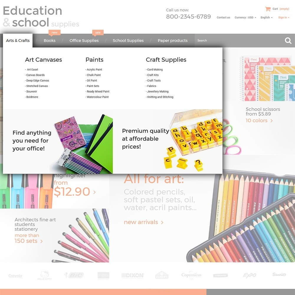 theme - Dom & Ogród - Education  School Supplies - 4