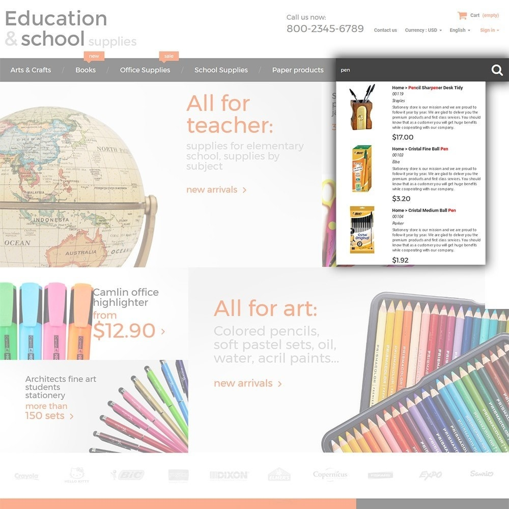 theme - Дом и сад - Education  School Supplies - 6