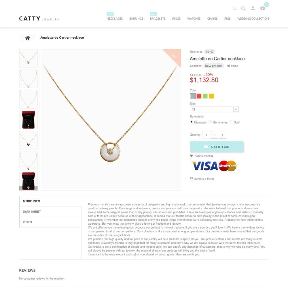 theme - Мода и обувь - Catty Jewelry - 3