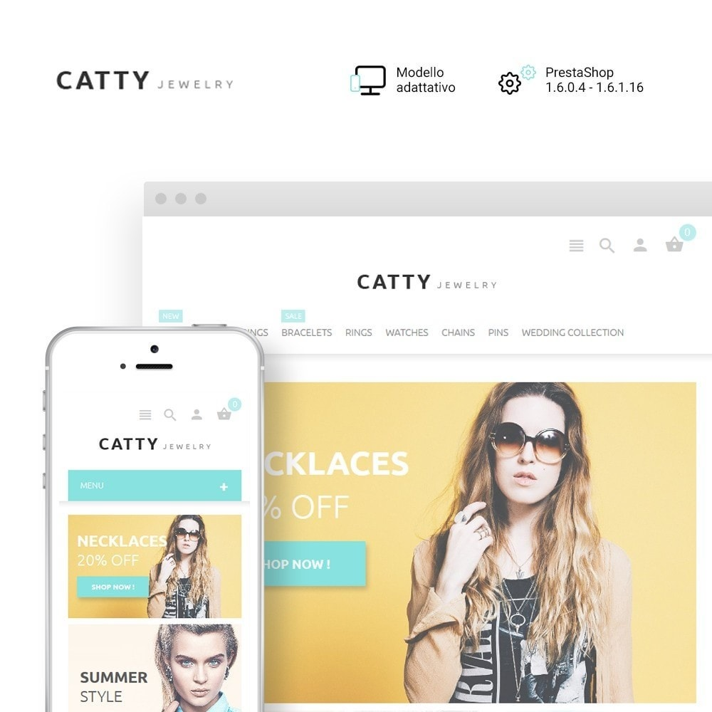 theme - Moda & Calzature - Catty Jewelry - 1