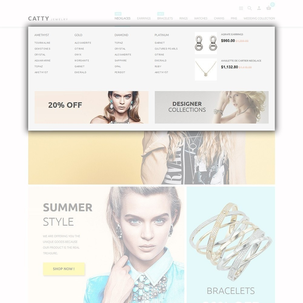 theme - Moda & Calzature - Catty Jewelry - 5