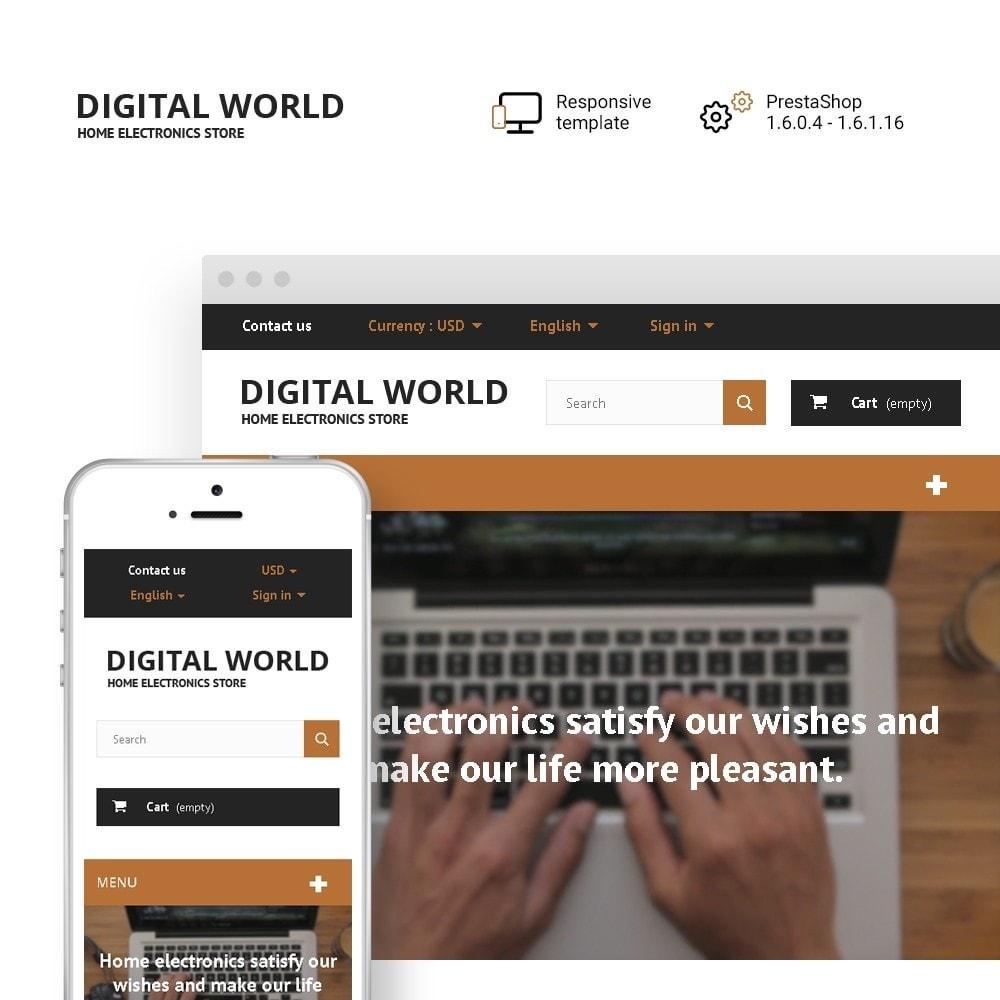 theme - Elektronika & High Tech - Digital World - 1